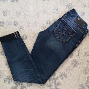 Silver Jeans Co. SUKI mid super skinny 29x31